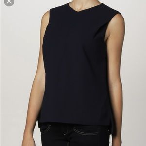 Ted Baker Osiride blue fitted top size 0